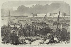 Men-Of-War's Men Leaving Portsmouth for the Baltic Fleet