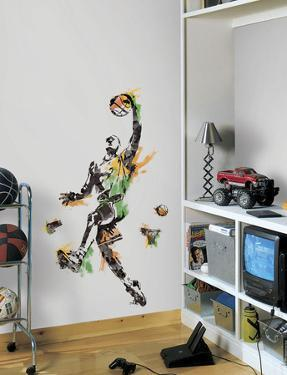 Men's Basketball Champion Peel and Stick Giant Wall Decal