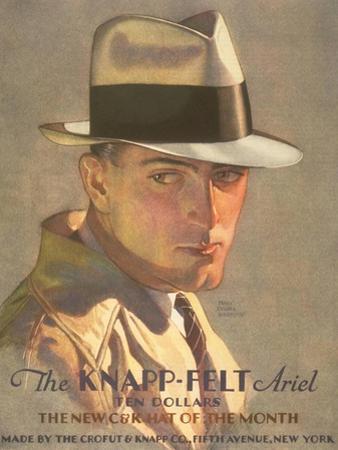 Men's Knapp-Felt Hats, USA, 1930