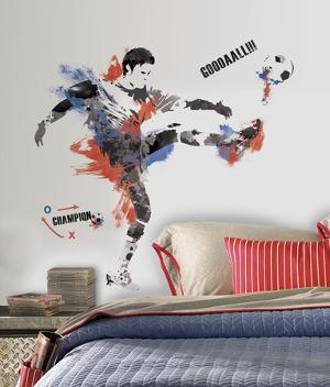 sports wall decals posters at. Black Bedroom Furniture Sets. Home Design Ideas