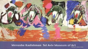 Four Sheep by Menashe Kadishman