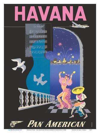 Havana, Cuba - Pan American World Airways