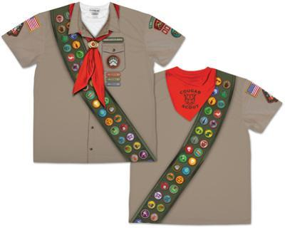 Mens Scout Costume Tee (Front/Back)