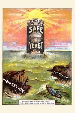 Warner's Safe Yeast by Mensing & Strecther