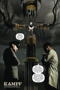 Zombies vs. Robots - Full-Page Art by Menton Matthews III