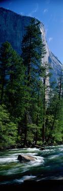 Merced River and El Capitan Yosemite National Park Ca