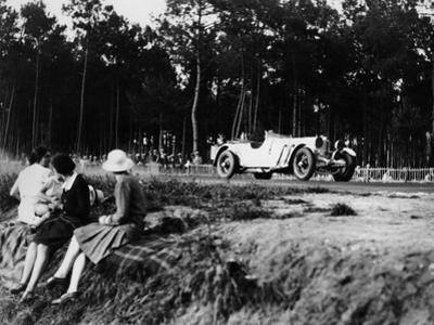 Mercedes-Benz Ss in Action at the Le Mans 24 Hours, France, 1930