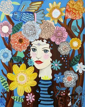 Flora by Mercedes Lagunas
