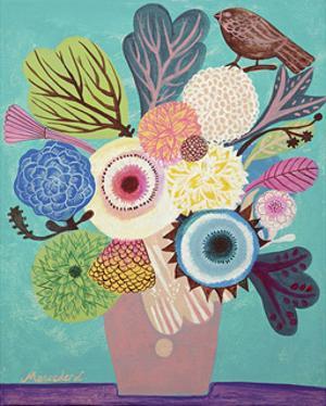 Flowers n. 10 by Mercedes Lagunas