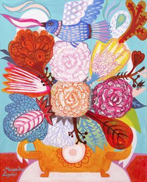 Flowers n. 18 by Mercedes Lagunas