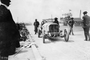 Mercedes of Christian Lautenschlager, French Grand Prix, Dieppe, 1908