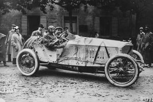 Mercedes Which Came Third in the 1914 French Grand Prix