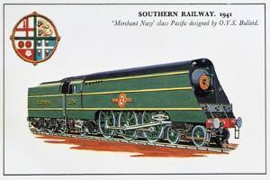 Merchant Navy Class, Southern Railway, 1941