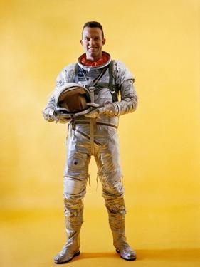 Mercury Astronaut Gordon Cooper Wearing a Spacesuit