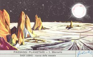 Mercury Landscape Trade Card