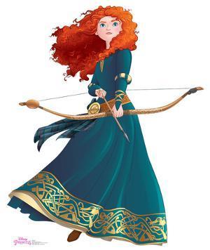 Merida - Disney Princess Friendship Adventures Lifesize Standup
