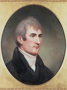 Meriwether Lewis 1774-1809 . Portrait by Charles Wilson Peale