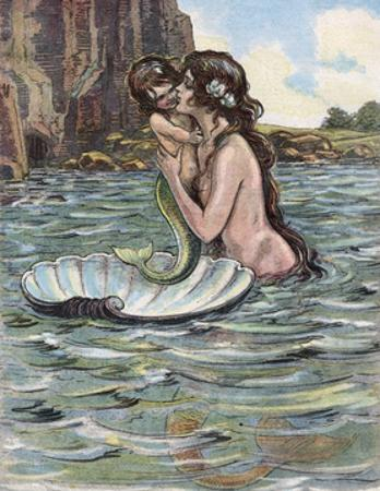 Mermaid and Child