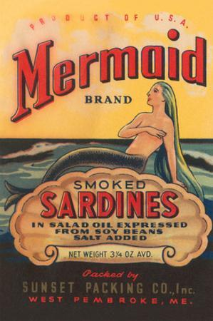 Mermaid Brand Smoked Sardines