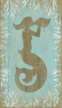 Mermaid Wood Sign