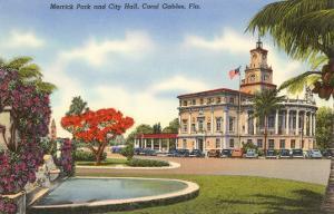 Merrick Park, City Hall, Coral Gables, Florida