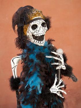 Catrina Skeleton, San Miguel De Allende, Mexico by Merrill Images