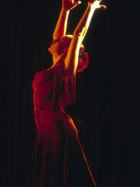 Female Flamenco Dancer, Cordoba, Spain by Merrill Images