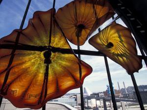 Glass Exhibit at Union Station, Tacoma, Washington, USA by Merrill Images