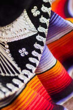 USA, California, Los Angeles, detail of Mexican sombrero hat by Merrill Images