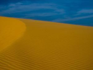 Vietnam, Mui Ne. Sand dune. by Merrill Images