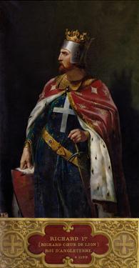 Richard I the Lionheart (1157-1199) King of England, 1841 by Merry Joseph Blondel