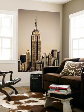 Empire State Building Amongst High-Rise by Merten Snijders