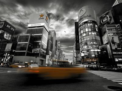 Street Scene in Ginza