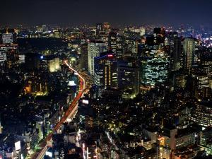Tokyo at Night by Merten Snijders