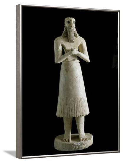 Mesopotamian Art : Figure of the Abu Deity--Framed Photographic Print