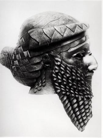 Head of Sargon I 2400-2200 BC by Mesopotamian