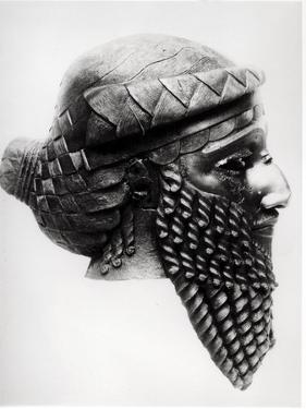 Head of Sargon I 2400-2200 BC by Mesopotamian