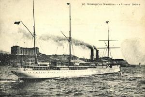 Messageries Maritimes, Mm, Armand Behic, Paquebot
