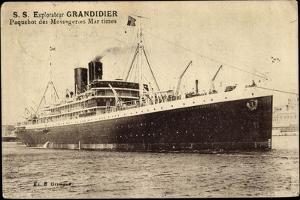 Messageries Maritimes S.S. Explorateur Grandidier