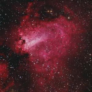 Messier 17, the Swan Nebula in Sagittarius