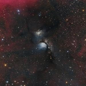 Messier 78, a Reflection Nebula in the Constellation Orion