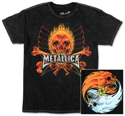 Metallica - Fire and Ice Mineral Wash