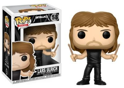 Metallica - Lars Ulrich POP Figure