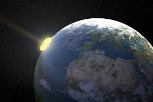 Meteor Impact, Artwork