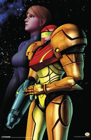 Metroid - Samus - Space