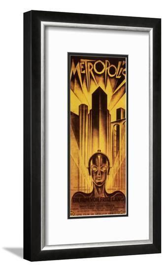 Metropolis, 1926-Schulz-Neudamm-Framed Art Print