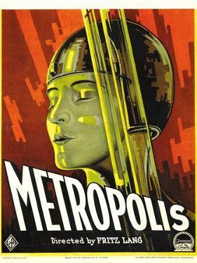 METROPOLIS, Brigitte Helm, 1927