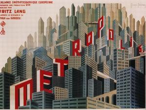 Metropolis, French Movie Poster, 1926