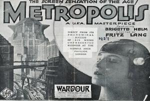 Metropolis, UK Movie Poster, 1926