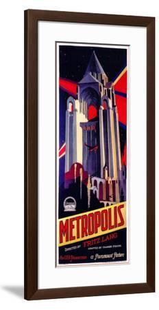 Metropolis--Framed Poster